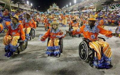 Carnaval acessível e inclusivo. O maior e mais tradicional evento popular do Brasil.