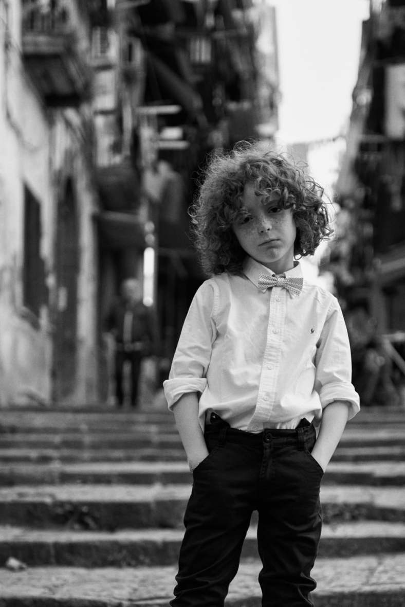 kids personal project, gli scugnizzi raffinati. Riccardo Polcaro, fotografo moda bambino.