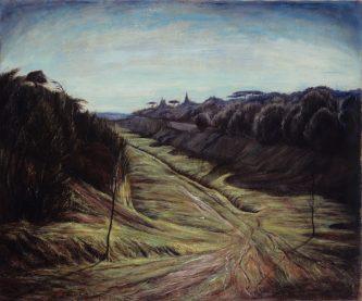 Peinture à l'huile, Le Vesinet.