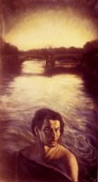 Exemple de peinture figurative contemporaine Le Vesinet.