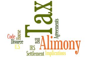 Tax Alimony