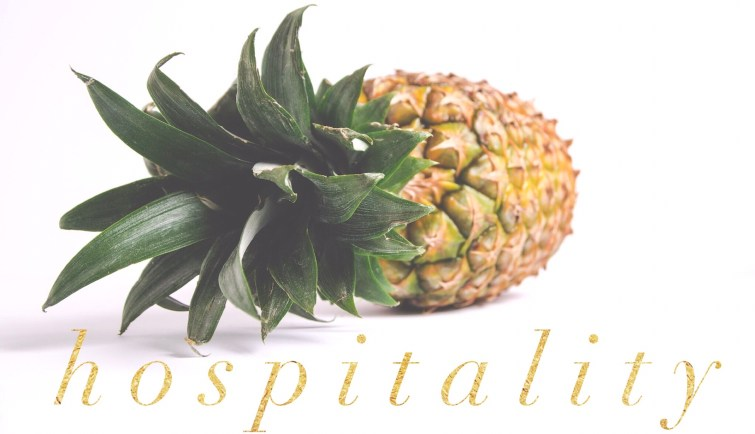 Pineapple The Symbol Of Hospitality Riceford Streams