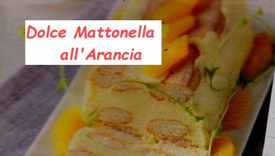 Ricetta di Cucina Mattonella all'arancia con Ingredienti e preparazione