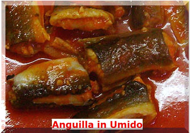 Anguille in Umido