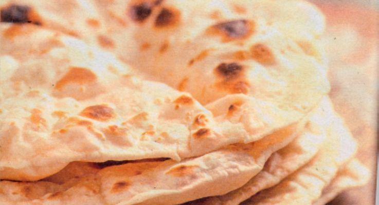 Ricetta di cucina Pane Chapati