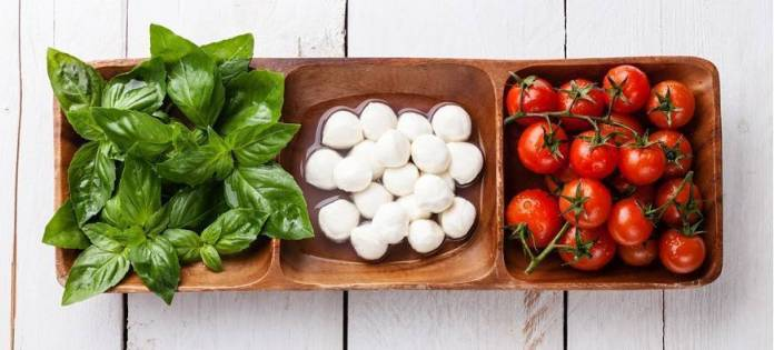 pomodoro mozzarella basilico