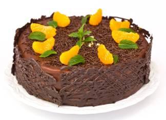 Torta al Cioccolato e Mandarini