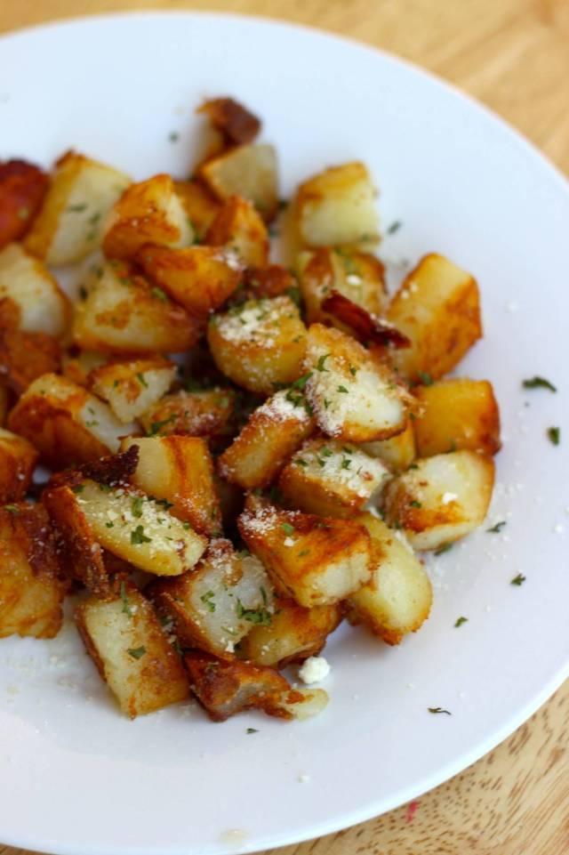 patate infarinate in padella