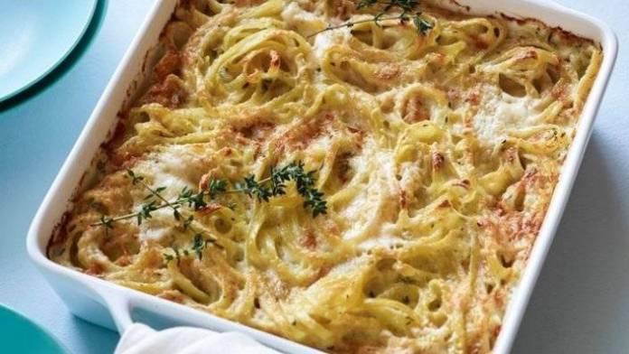 Timballo di Pasta al Forno alla Crema di Zucchine e Robiola