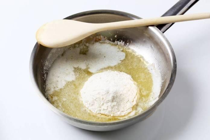 linguine alla crema di gamberi