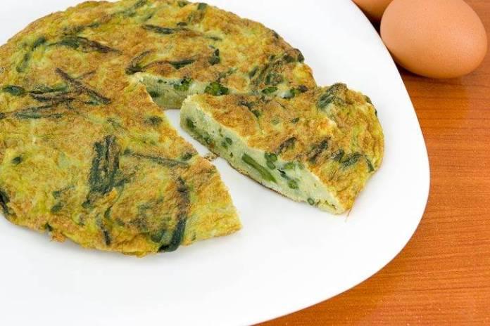 frittata di asparagi