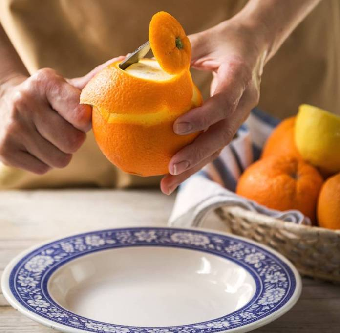 Tarallini dolci all'Arancia e Noci