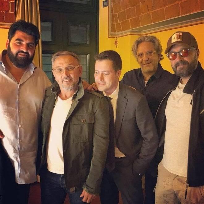 Masterchef, i giudici a cena a Priocca - Foto Repubblica