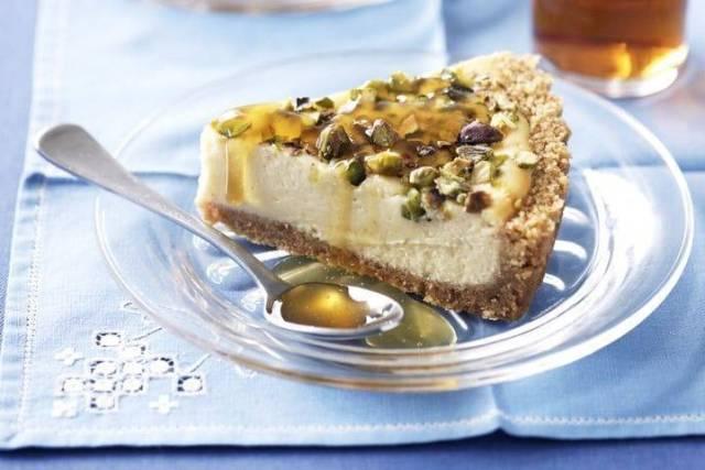 Cheesecake Salata con Mortadella e Pistacchi non cotta