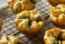 Fagottini di spinaci gorgonzola e noci