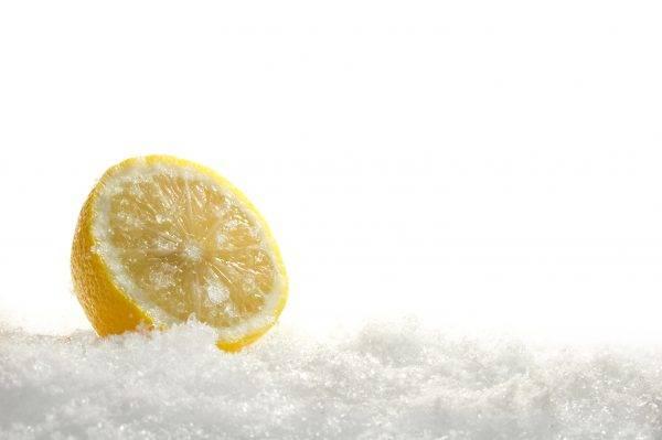 Limone congelato, tutti i benefici