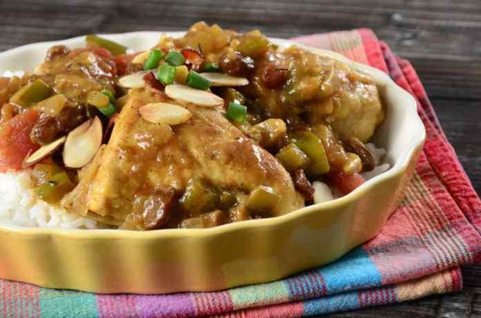Pollo alle Mandorle con Salsa al Marsala