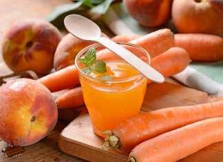 Estratto abbronzante carota pesca e melone - Foto: ricettasprint.it
