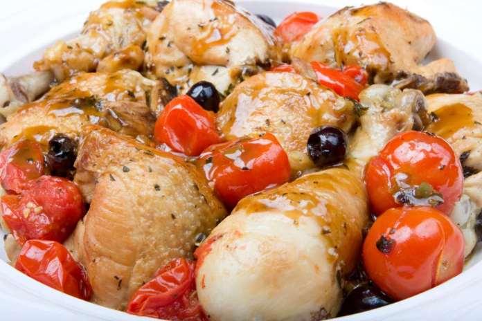 Bocconcini di pollo alla pizzaiola - ricettasprint.it