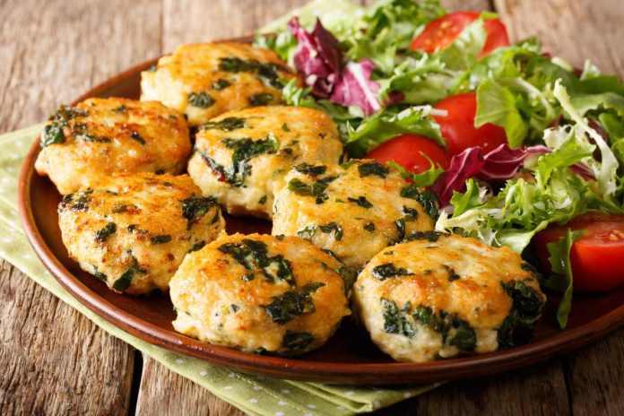 polpettine di pollo e spinacino - ricettasprint.it
