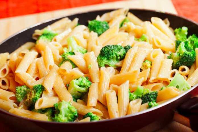 Pennette con broccoli