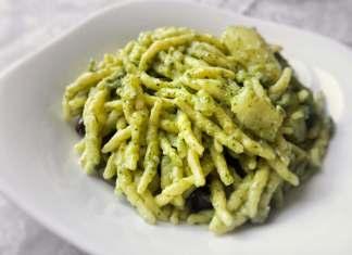 Trofie con Pecorino e Crema di Broccoli