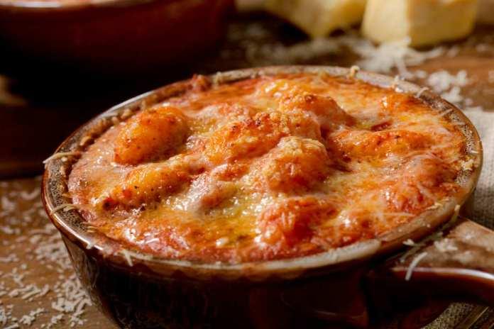 Gnocchi al forno con Pancetta e Mozzarella