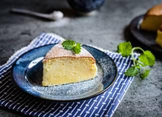 Torta cremosa allo yogurt e miele
