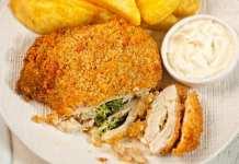 Tasche di pollo ripiene con ricotta e spinaci - ricettasprint.it