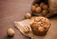 Muffin alle Noci e Miele - Ricettasprint.it