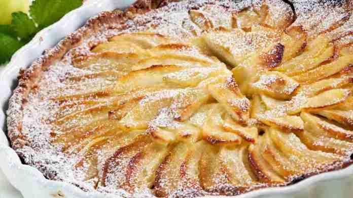Torta di mele con burro