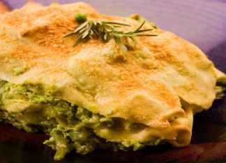 Lasagne con broccoli e besciamella