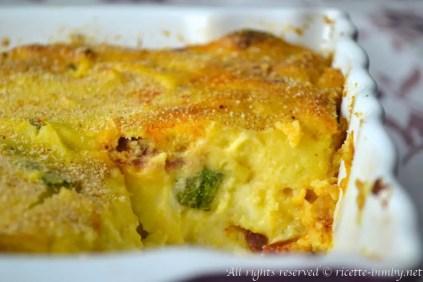 Gateau di patate e zucchine bimby 1