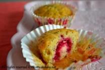 Muffin ai lamponi e semi di papavero bimby 2