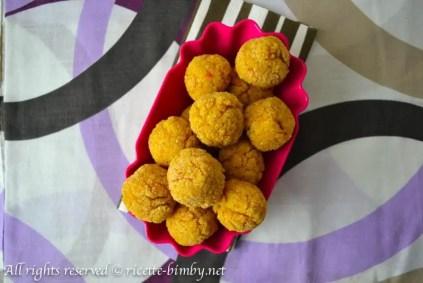 Polpette di quinoa e verdure bimby 1