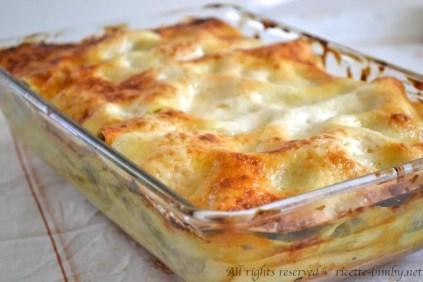Lasagne alle verdure bimby 1