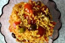 Insalata di riso integrale ai pomodori bimby
