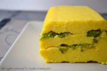 Plumcake di polenta bimby