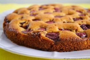 Torta alle ciliegie bimby