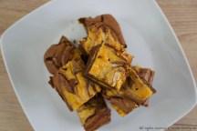 Brownies alla zucca e cioccolato bimby