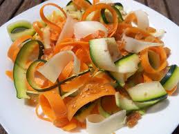 nastri di zucchine bimby