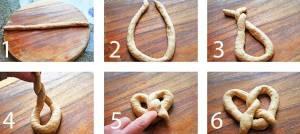 come fare la forma del bretzel