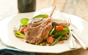 agnello con verdure bimby