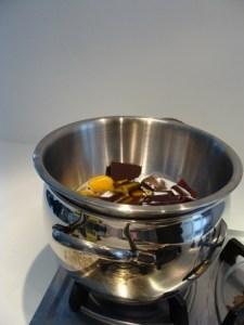 Cottura a bagnomaria (cioccolato)