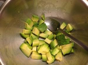 Insalata sgombro avocado