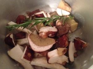 funghi porcini crema