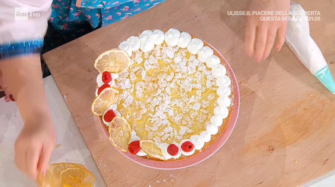 crostata al bergamotto di zia Cri