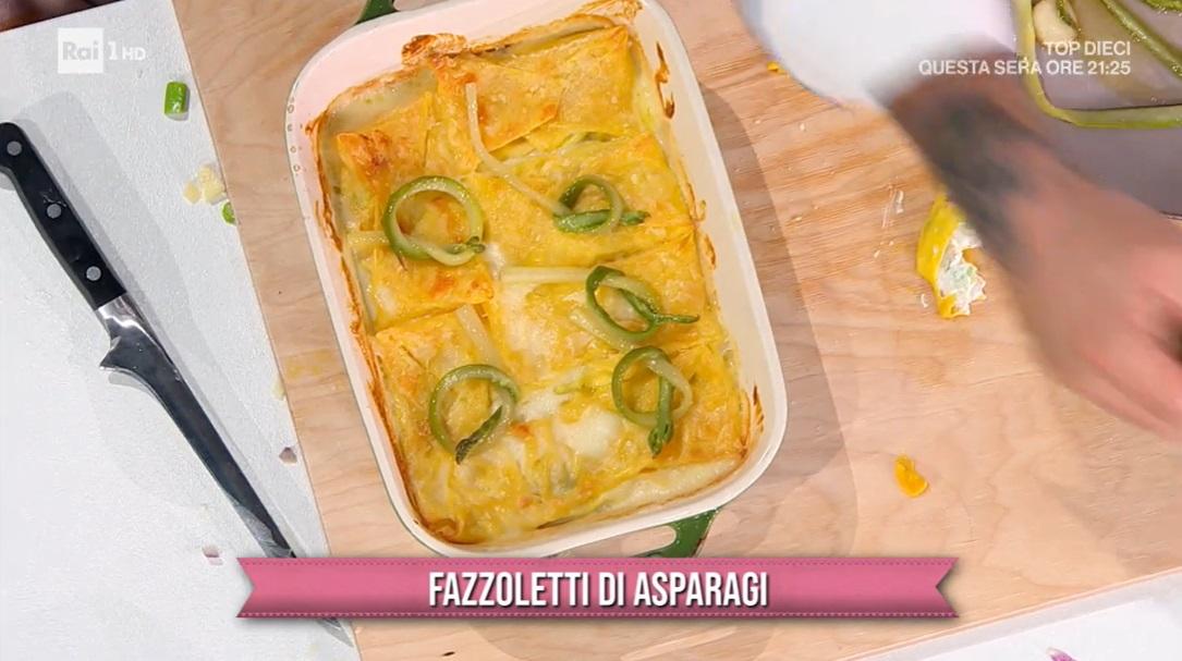 fazzoletti di asparagi di Carmine D'Elia