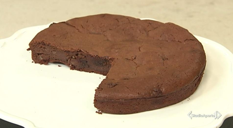 torta moelleux cioccolato e ricotta