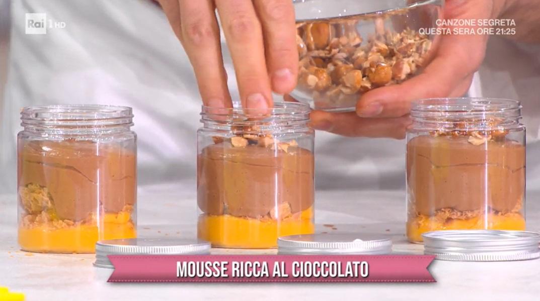 mousse ricca al cioccolato di Luca Montersino